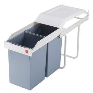 Affaldsspand Multi-Box Duo L – 2×14 liter til indbygning i skab