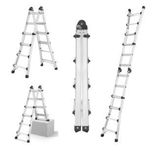 Multistige justerbar i aluminium – flere varianter – 4×4