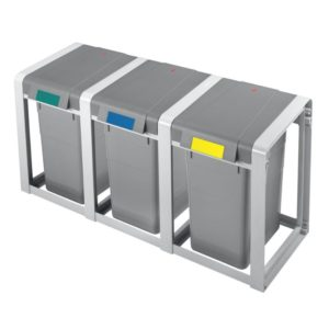 Hailo Affalds Sortering Grundmodul & Udvidelses modul Profiline 19 eller 38 liter