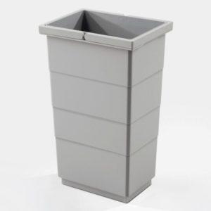 Affaldsspand – inderspand 10 liter høj bund – grå plast